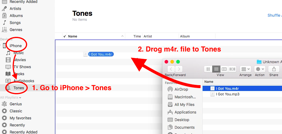 Make Your Own Ringones for iPhone on iTunes 12.7