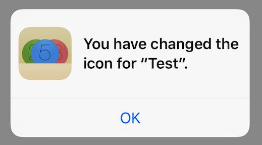 change app icons