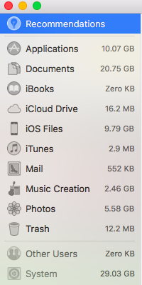 Correct Storage Usage on My MacBook