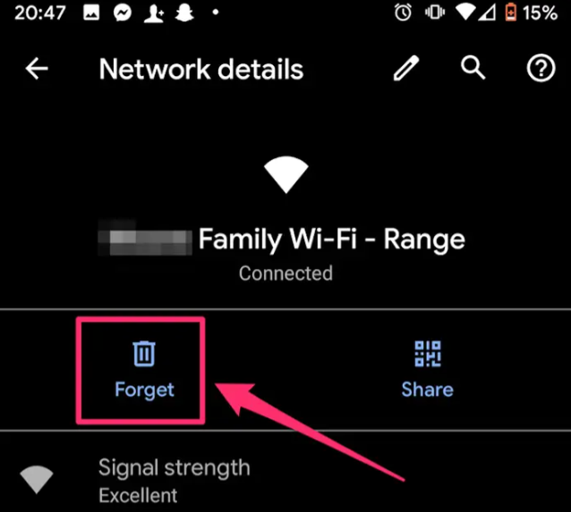 Forget Wi-Fi on Android